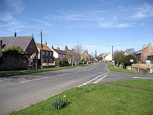 Dishforth - Image: Main Street, Dishforth