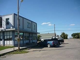 Vanscoy, Saskatchewan - Main Street in Vanscoy