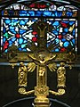 Main cross of the altar of Saint Mary church in Roncesvalles.jpg