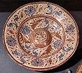 Maiolica ispano-moresca, piatto a lustro, 1500-25 ca.jpg