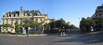 Boulevard de l'Hôpital - Town hall of the XIII arrondissement and the boulevard de l'Hôpital