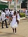 Majorette en prestation à Abidjan 2.jpg