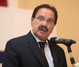 Pakistani general election, 2002 - Image: Makhdoom Amin Faheem Horasis Global Arab Business Meeting 2012