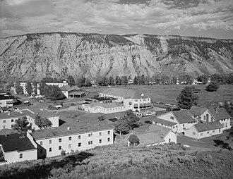 Mammoth Hot Springs Historic District - Image: Mammoth Hot Springs Historic District