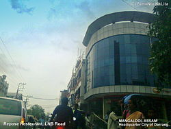 View of Mangaldoi Repose building in LNB Road