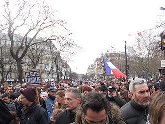 Republican marches - Image: Manif 11 janvier 2015 (2)