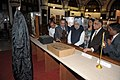 Manmohan Singh going round the exhibition on the History and Heritage of the Bombay High Court, during the concluding function of the Sesquicentennial celebrations of the Bombay High Court (2).jpg