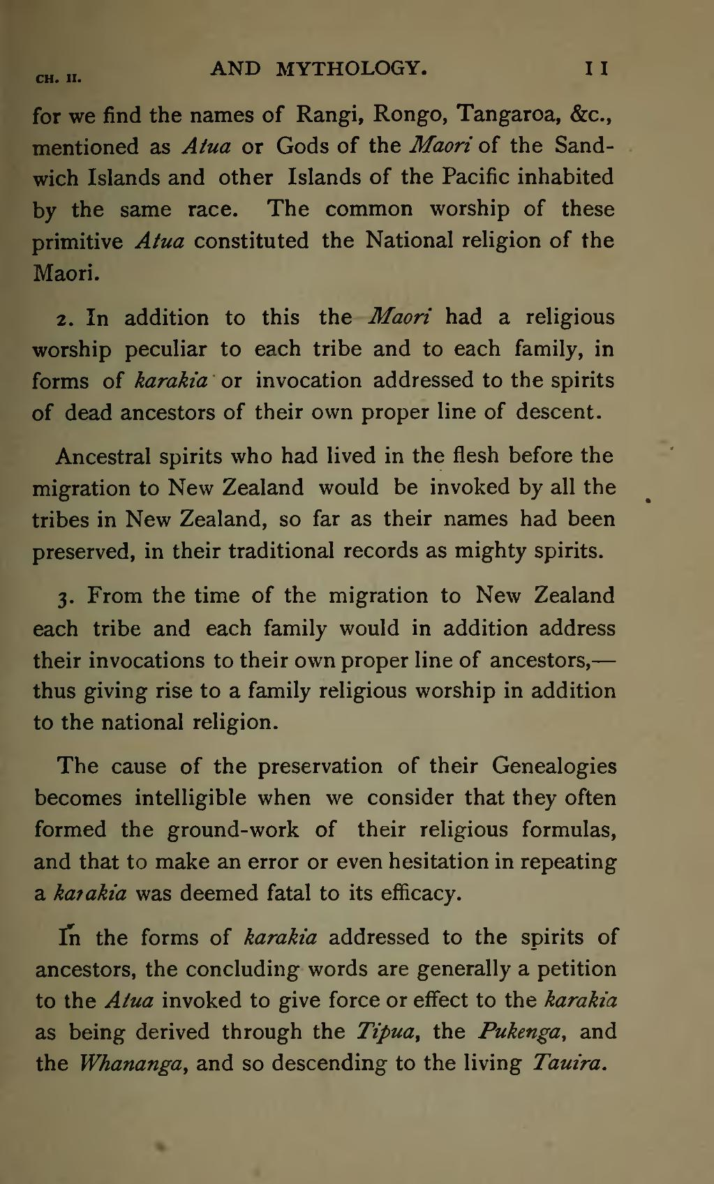 Maori Religion: Page:Maori Religion And Mythology.djvu/25