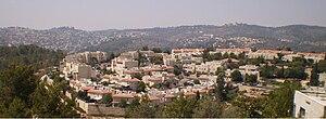 Mevaseret Zion - Maoz Zion panorama