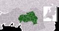 Map - NL - Municipalities De Meierij (2011).png