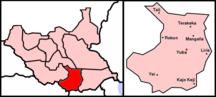 Central Equatoria-Music-Map Sudan BaD Juba