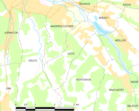 Map commune FR insee code 64550.png