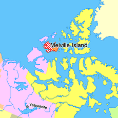 Map indicating Melville Island, northern Canada.png