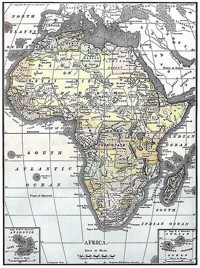 Carte Afrique Anglais.Afrique Au Xixe Siecle Wikipedia