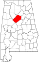 Map of Alabama highlighting Jefferson County.svg