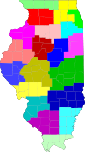 Map of Illinois highlighting ISP Districts.svg