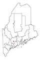 Map of Maine highlighting Augusta.png