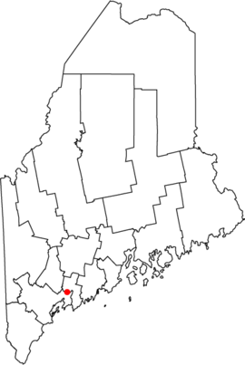 Map of Maine highlighting Topsham.png
