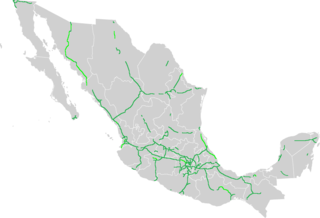 highway type in Mexico