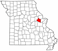 Map of Missouri highlighting Warren County.png