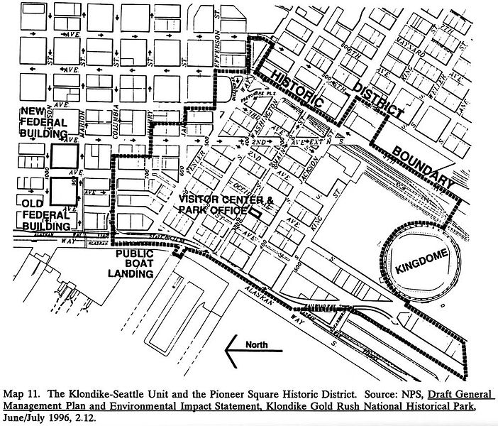 File Map Of Pioneer Square Historic District Jpg Wikimedia Commons