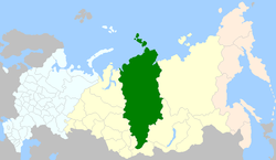 Map of Russia - Enetses Ketes Nganassanes(2008-03).png