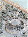 Maquette du mausolée dAuguste (musée de la civilisation romaine, Rome) (5911811980).jpg