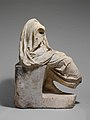 Marble statue of a draped seated man MET DP139910.jpg