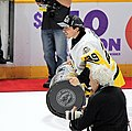 Marc-Andre Fleury with Stanley Cup 2017-06-11 1.jpg