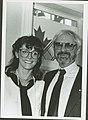 Margot Kidder and Norman Jewison. (48198930402).jpg