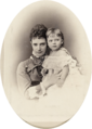Maria Fyodorovna with her daughter Xenia.png