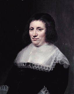 Maria van Reigersberch wife of Grotius who helped him escape in a book case