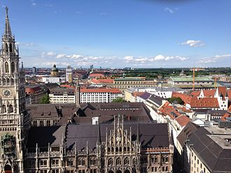 Marienplatz - June 2015