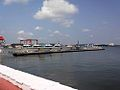 Marina, a floating berthing jetty for the Indian Navy's Fast Interceptor Crafts, at Naval Base Kochi.jpg