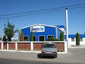 Sântana de Mureș - Image: Marosszentanna Sanlacta