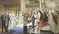 Marriage of Princess Margaret of Connaught to Prince Gustavus Adolphus of Sweden, by Sydney Prior Hall.jpg