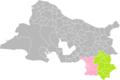 Marseille (Bouches-du-Rhône) dans son Arrondissement Départemental (Communes répartie selon ses Arrondissements Communaux).png