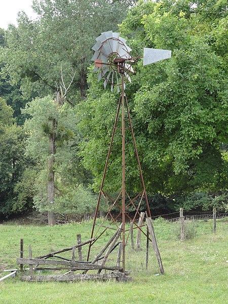 Marson-sur-Barboure (Meuse) wind wheel