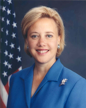 United States Senate election in Louisiana, 1996 - Image: Mary Landrieu official portrait