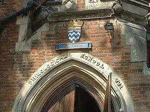 St Marylebone Grammar School - Image: Marylebone Grammar 0002