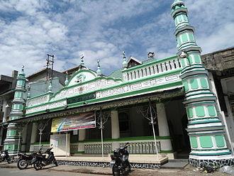 Padang - Masjid Muhammadan, a historic mosque in Padang