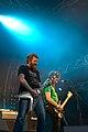 Mastodon (Brent Hinds & Troy Sanders) at Ruisrock 2007.jpg
