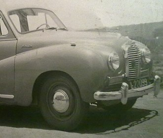 History of Angola - Car in Angola, in 1949.