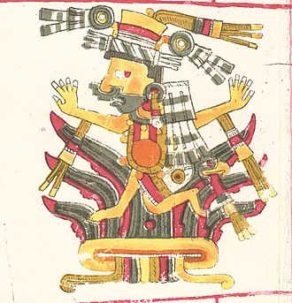 Mayahuel - Figure 1. Mayáhuel, depicted in the Codex Borgia