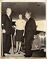 Mayor John F. Collins; Ann Galvan; Charles Vaughan, Mayor of Halifax, Nova Scotia (12773762733).jpg