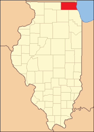 McHenry County, Illinois - Image: Mc Henry County Illinois 1836