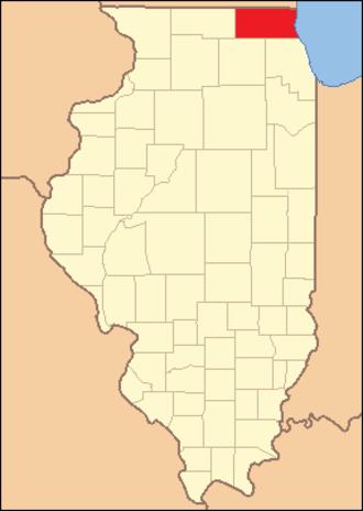 McHenry County, Illinois - Image: Mc Henry County Illinois 1836