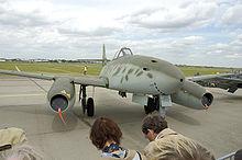 Reproduction of a Messerschmitt Me 262 (A-1c) at the Berlin Air Show 2006