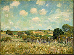 Alfred Sisley: Meadow