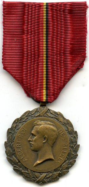 King Albert Medal - Image: Medaille du Roi Albert Berlgique 14 18